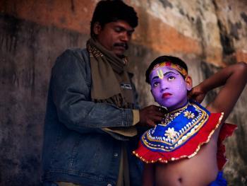 印度神灵扮演者05