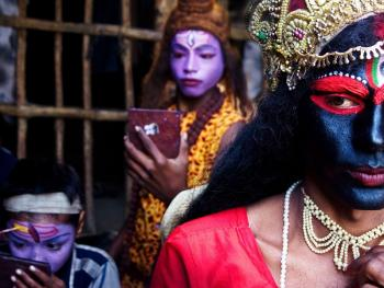 印度神灵扮演者08