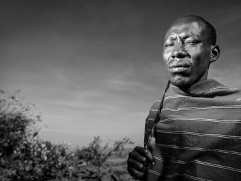 肯尼亚马赛男人3