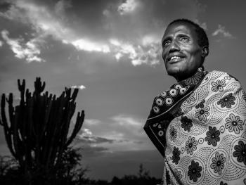 肯尼亚马赛男人5