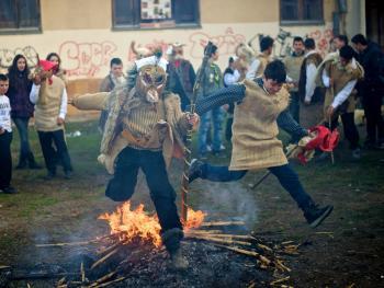 塞尔维亚白色狂欢节10