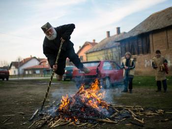 塞尔维亚白色狂欢节11