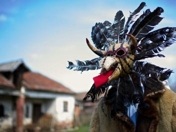 塞尔维亚白色狂欢节01