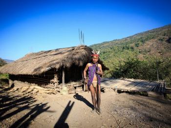 缅甸钦邦的部落居民2