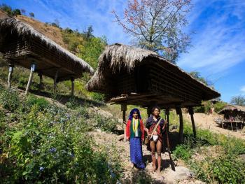 缅甸钦邦的部落居民5