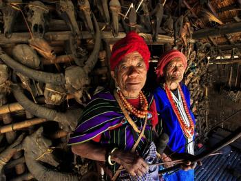 缅甸钦邦的部落居民6