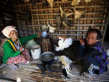 缅甸钦邦的部落居民7
