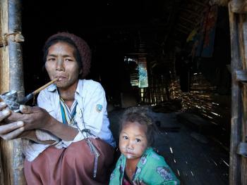缅甸钦邦的部落居民8