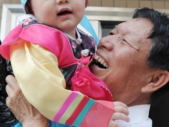 朝鲜族抓周11