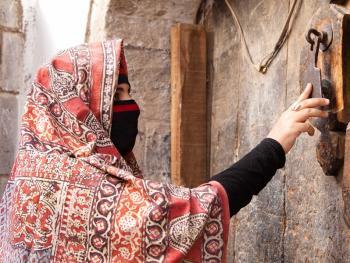 也门妇女的传统披盖13