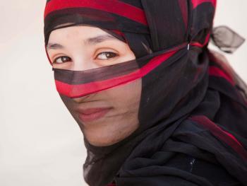 也门妇女的传统披盖03