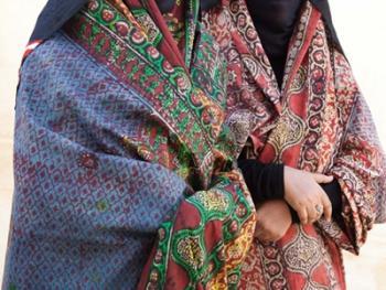 也门妇女的传统披盖07