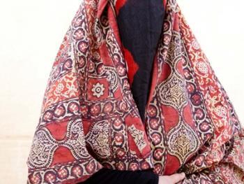 也门妇女的传统披盖08