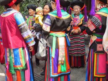 纳木依藏族的女子服饰11