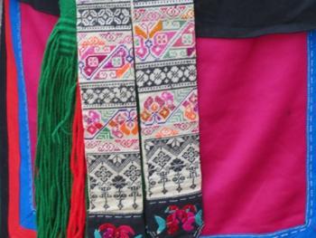 纳木依藏族的女子服饰13