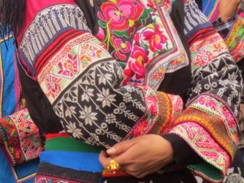 纳木依藏族的女子服饰14