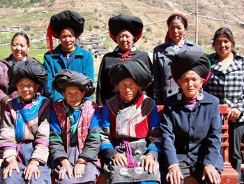 纳木依藏族的女子服饰06