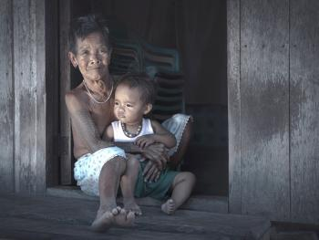 卡林阿族老妇人和她们的纹身1