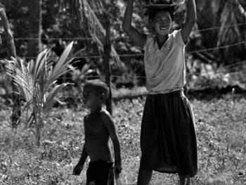 菲律宾苏禄岛的土著居民01