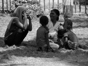 菲律宾苏禄岛的土著居民05