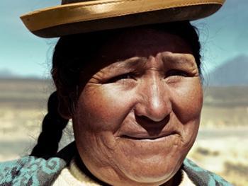 秘鲁安第斯山的山民11