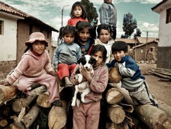 秘鲁安第斯山的山民04