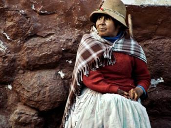 秘鲁安第斯山的山民06