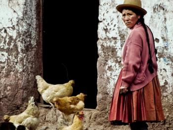 秘鲁安第斯山的山民09