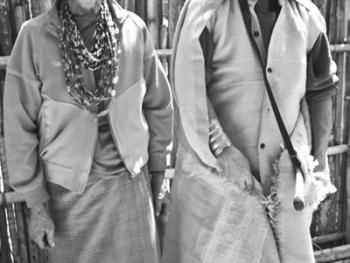 印度的那加部落和尼什部落12