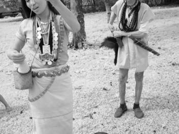 印度的那加部落和尼什部落13