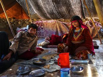 伊朗游牧部落生活