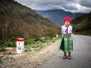 越南东北部的人们06