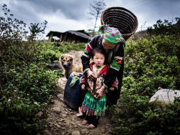 越南东北部的人们08