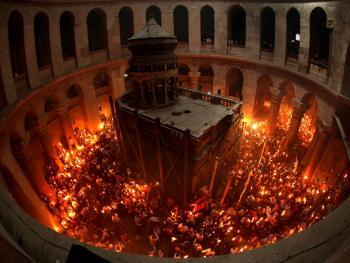 耶路撒冷圣墓朝拜