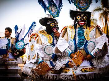 圣保罗市玻利维亚人的狂欢节10