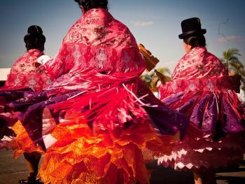 圣保罗市玻利维亚人的狂欢节11