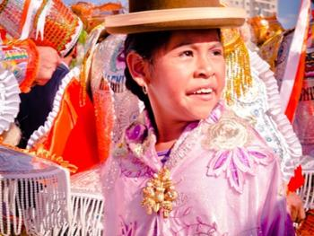 圣保罗市玻利维亚人的狂欢节04