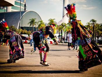 圣保罗市玻利维亚人的狂欢节08
