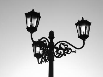 日惹殖民时期的灯