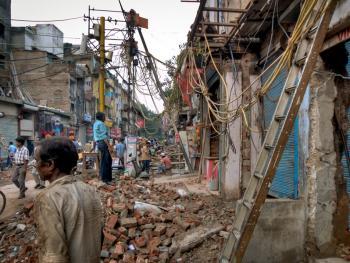 新德里的市政工程07