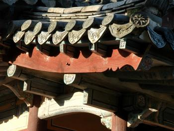 韩国传统建筑上的瓦片10