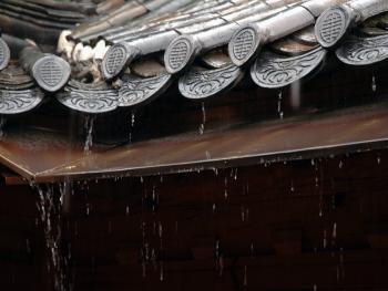 韩国传统建筑上的瓦片03