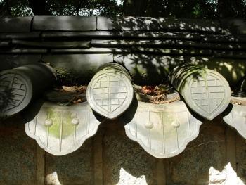 韩国传统建筑上的瓦片08