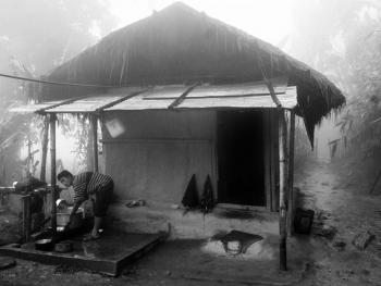 雷布查人的传统房屋14