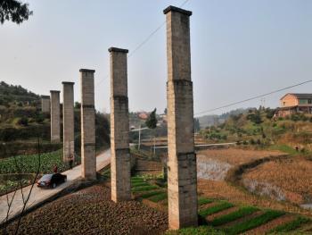 农业学大寨时修的水渠13