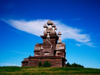 俄罗斯北部的宗教建筑