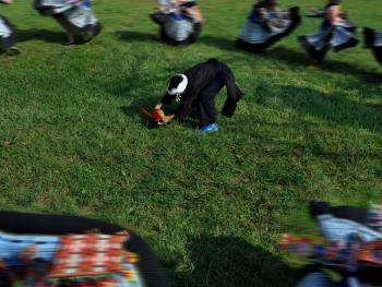 苗族牛角舞12