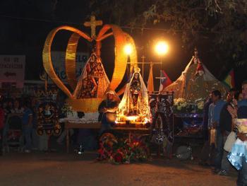 智利拉蒂罗纳的圣女庆典03