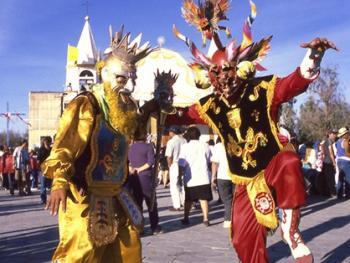智利拉蒂罗纳的圣女庆典05