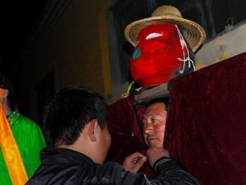 鲁南傩戏人灯舞09